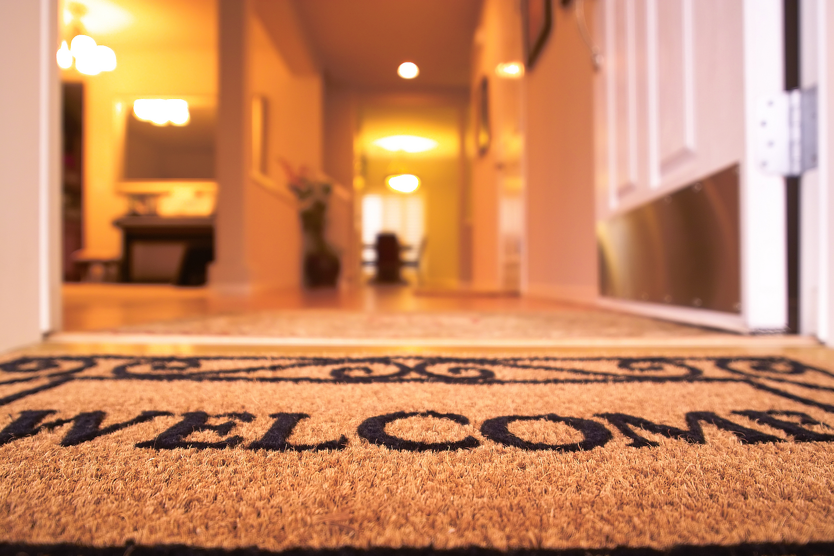 Welcome to my new blog  Above the Market   My focus here will be the    Open Door Welcome Mat