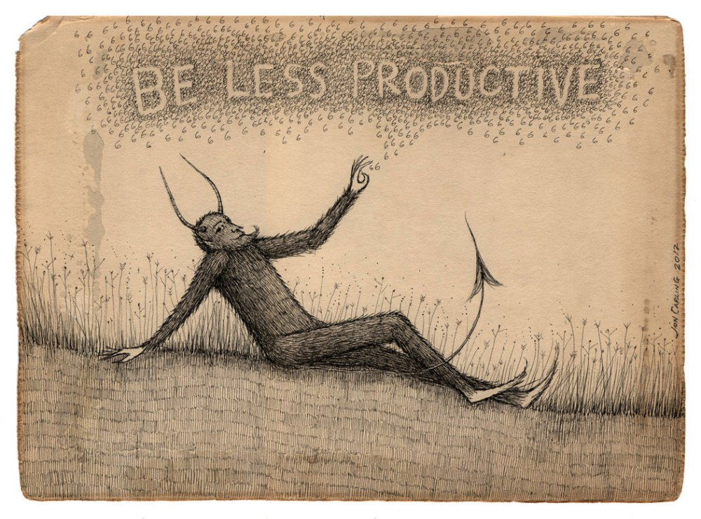 Be Less Productive