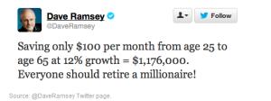 Dave Ramsey Twitter