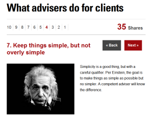 What Advisors Do For Clients